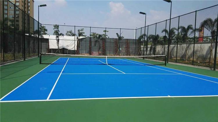 塑胶网球场承建