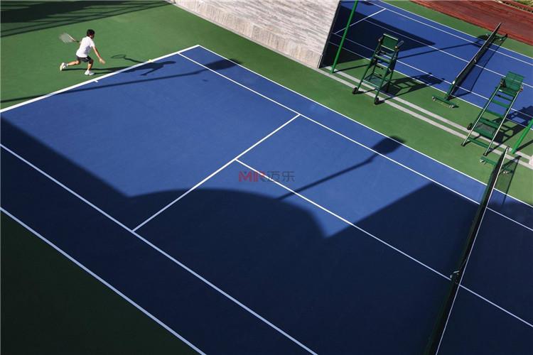网球场地面塑胶