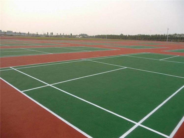 网球场塑胶地面