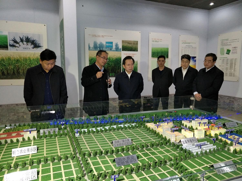 时任河北省省委副书记李干杰莅临公司基地指导工作