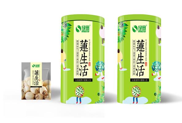 绿田食品包装设计