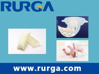 End Seal adhesive for baby diaper