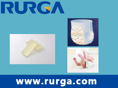 Constructiona Adhesive for Diaper/sanitary napkin/under pads