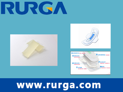 Positioning adhesive for  Sanitary Napkin/Panty Liner