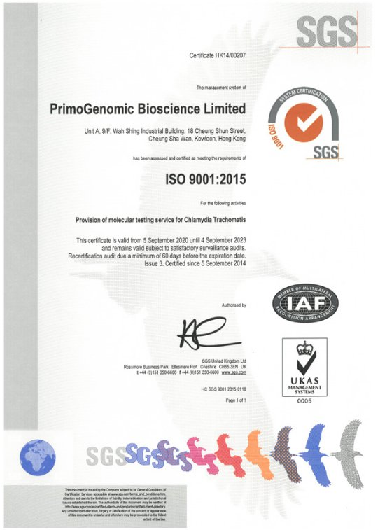 ISO 9001:2015认证