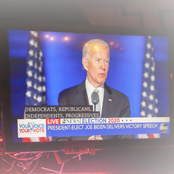 Biden urges unity after presidential election win