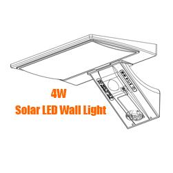 Featured Solar Powered LED Wall / Garden Light
