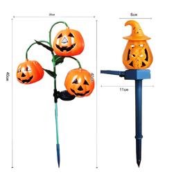 2021 New Design Solar LED Pumpkin Halloween Lamp L...
