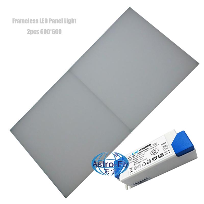 Frameless LED Panel Light