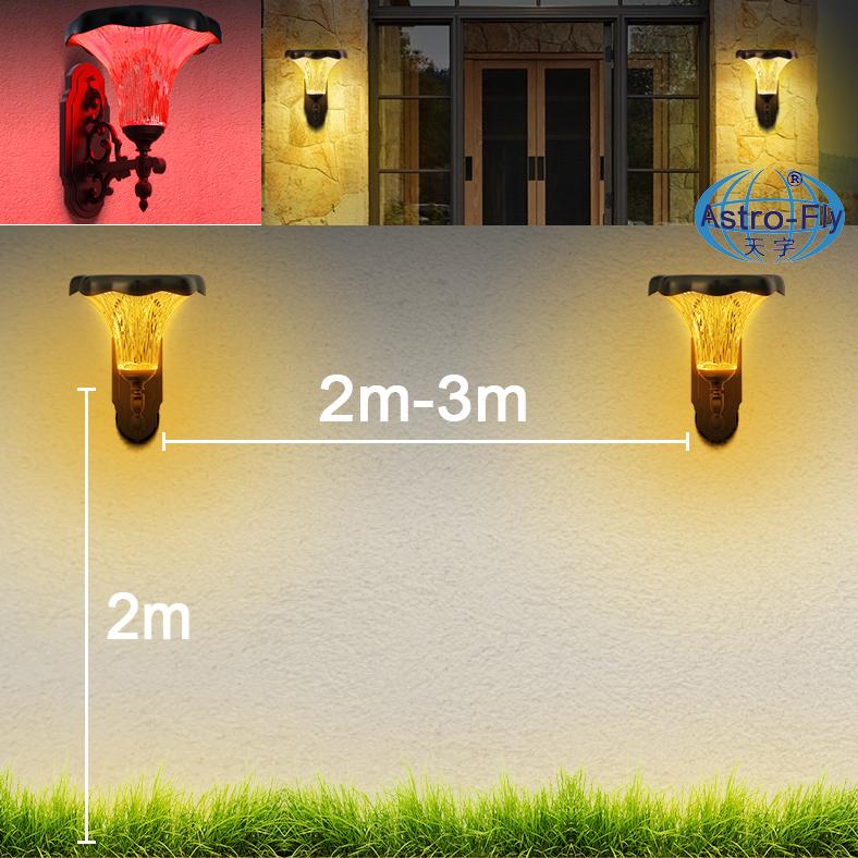 WiFi Solar LED Courtyard Light