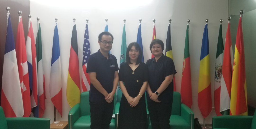 [IEAE · Canton] project team visited Guangdong cross border E-Commerce Association and European and American Chamber of Commerce and Industry