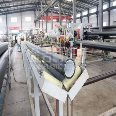 钢丝网骨架聚烯烃弹性体耐磨复合管道1