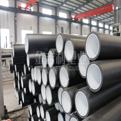 钢丝网骨架聚烯烃弹性体耐磨复合管道