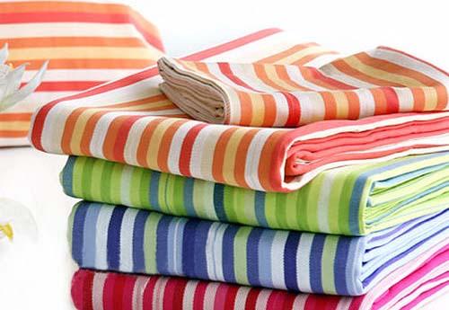 如何判断面料是不是色织布