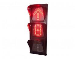 单8数显箭头信号灯