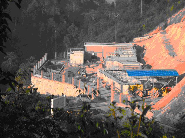 云南垃圾填埋场渗滤液污水处理工程