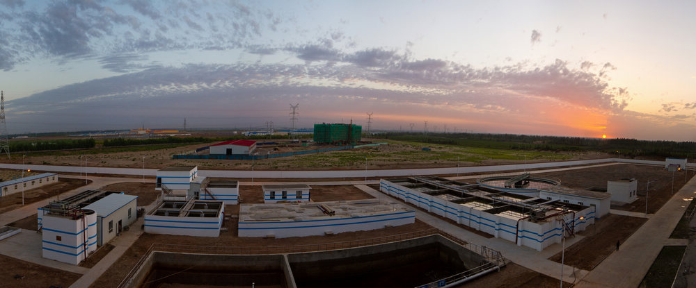 新疆金疆化纤有限公司污水处理工程