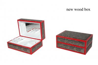 C木盒首饰盒-精美珠宝首饰木盒