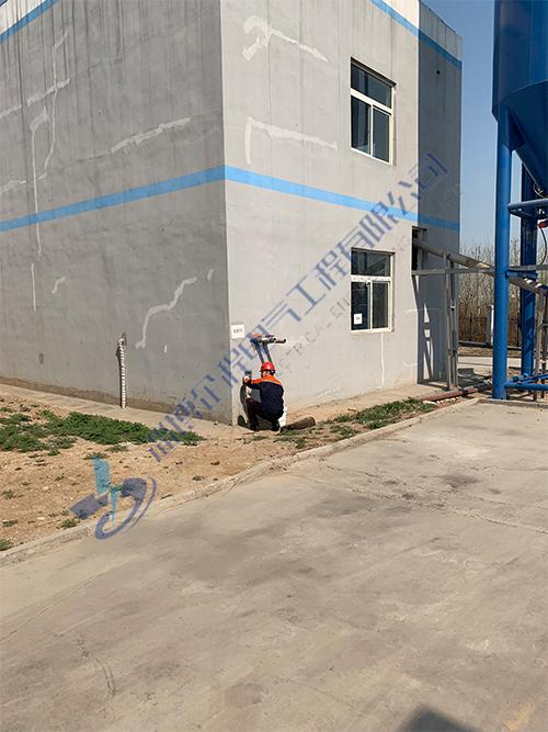 污水处理设备防雷接地检测