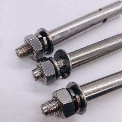 304不锈钢膨胀螺丝膨胀螺栓拉爆螺丝