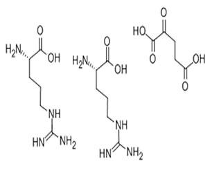 L-精氨酸 alpha-酮戊二酸 (2:1)