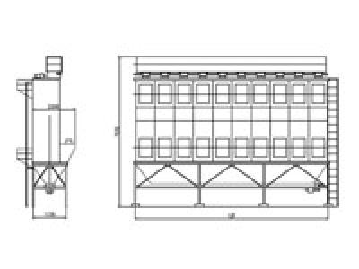 LMN-II型袋式除尘器