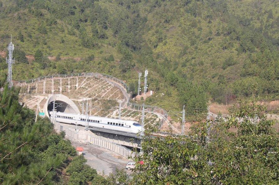 Jiangxi railway project