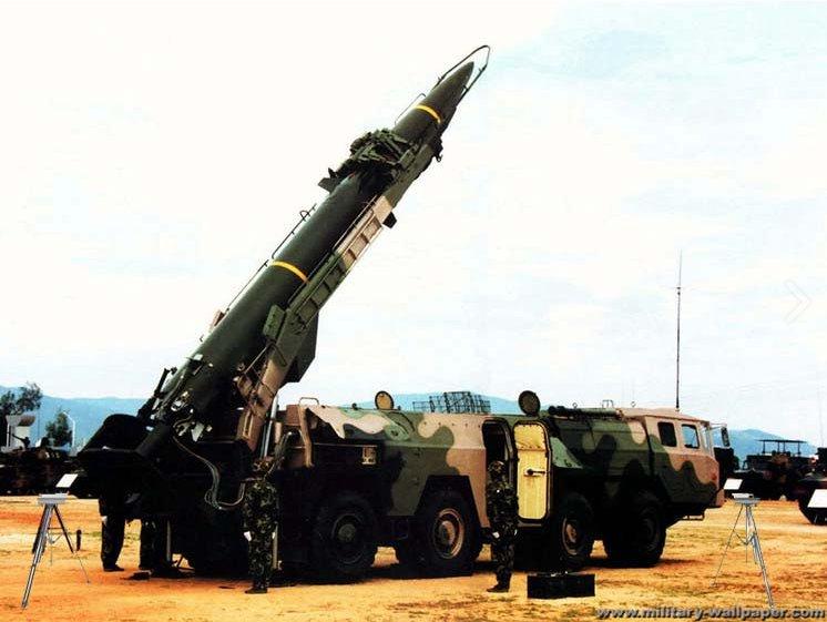 Second artillery of PLA