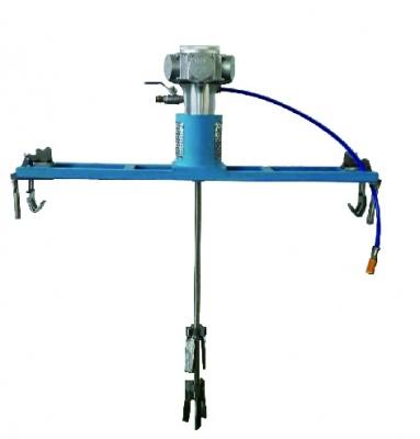 Fixed pneumatic mixer