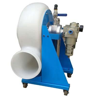 Pneumatic centrifugal fan