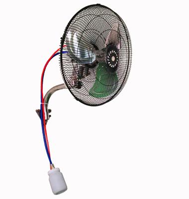Explosion-proof wall-mounted pneumatic fan
