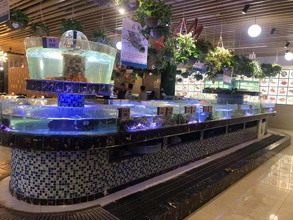 海鲜缸海鲜池