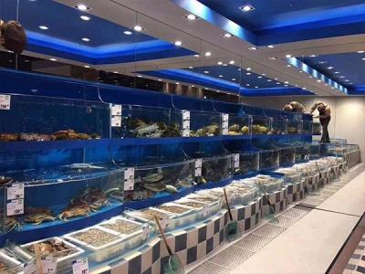 海鲜养殖池