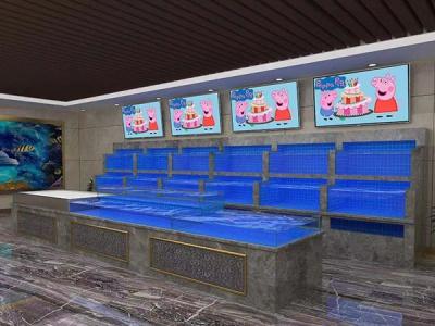 菜场海鲜池