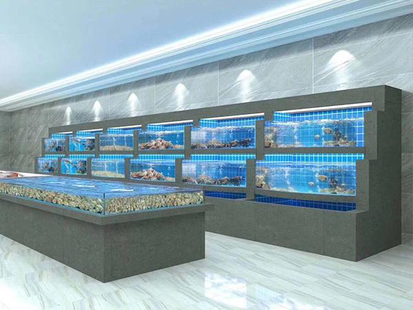 融侨国际大酒店海鲜池设计完成