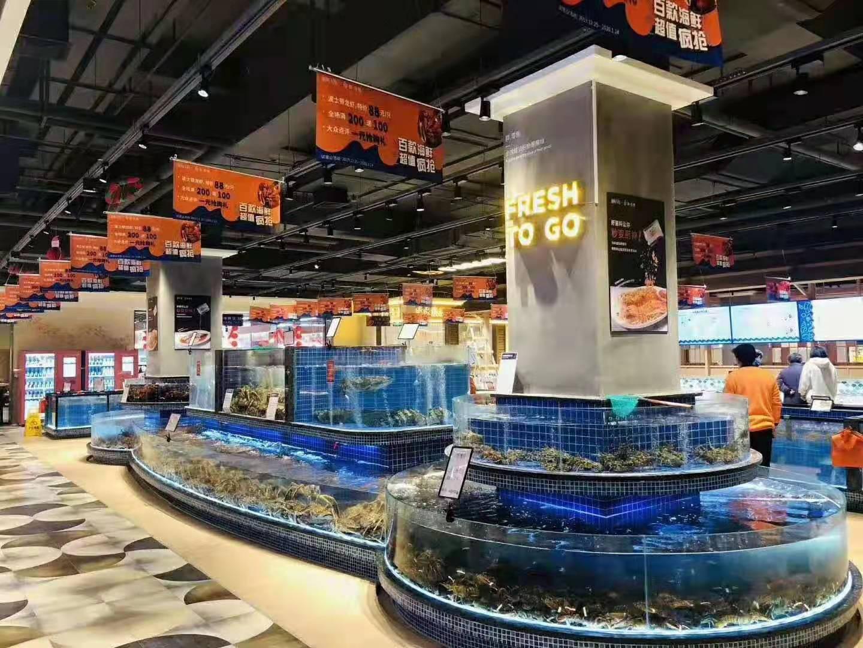 饭店小型海鲜池制作