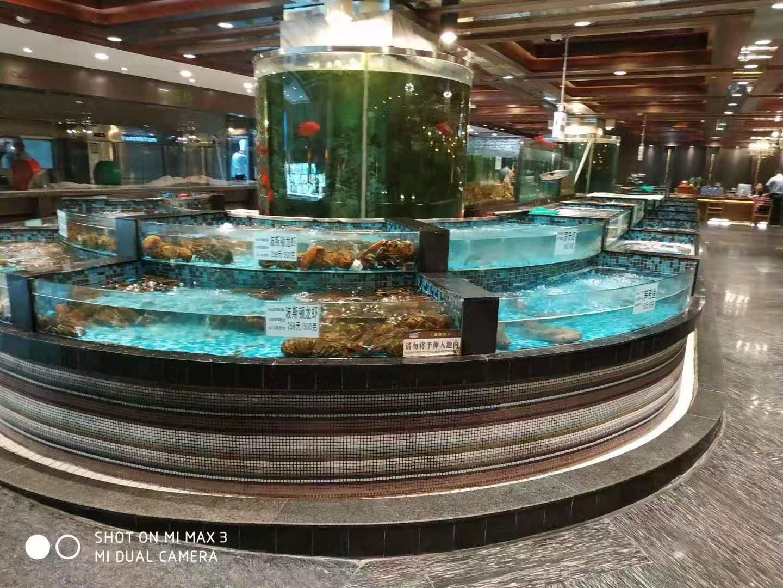 饭店海鲜池定做