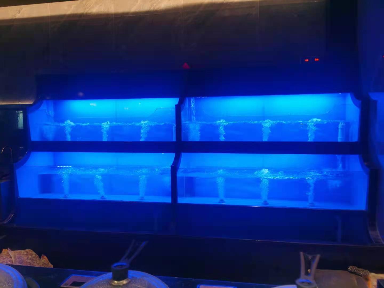 海鲜池鱼缸定做