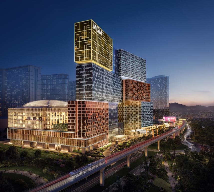 粤港澳新项目|澳门高端娱乐场酒店:美狮美高梅