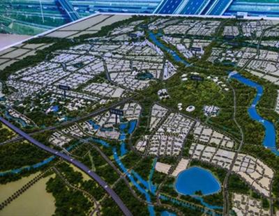 新疆城市规划模型