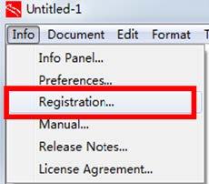 关于Opentrack软件License转移安装的说明