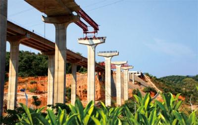湘西自治州凤凰县堤溪高架桥重建工程