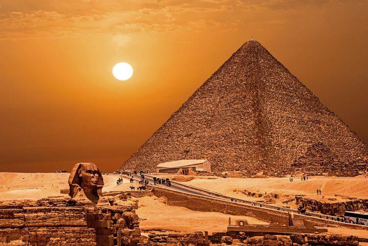 金字塔的秘密与打坐养生修行法