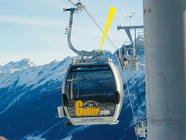 液压阻尼器使操作缆车更为方便