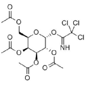 2,3,4,6-四-O-乙酰基-α-D-吡喃半乳糖酰基-2,2,2-三氯代亚氨乙酸酯
