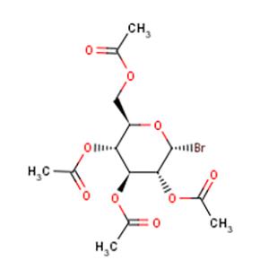 2,3,4,6-四乙酰氧基-alpha-D-吡喃葡萄糖溴化物-溴代葡萄糖苷【572-09-8】