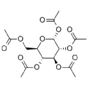 1,2,3,4,6-alpha-D-葡萄糖五乙酸酯【604-68-2】Glucose-pentaacetate