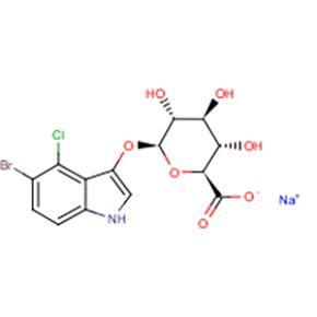 5-溴-4-氯-3-吲哚基-beta-D-葡糖苷酸钠【129541-41-9】