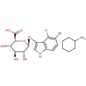 5-溴-4-氯-3-吲哚基-BETA-D-葡糖苷酸环己胺盐X-Gluc-【114162-64-0】