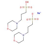 3-(N-吗啉)丙磺酸半钠盐